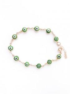 Pulseira Olho Grego - verde