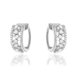 Brinco Argola Diamonds